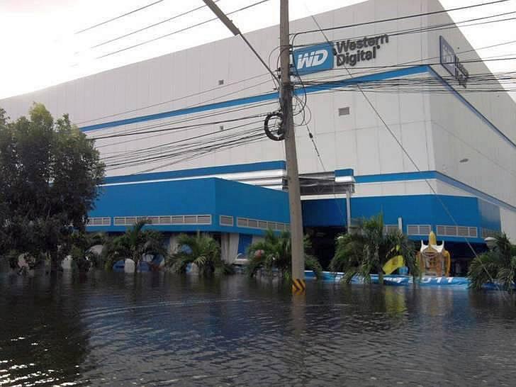 tailandia wd inundaciones