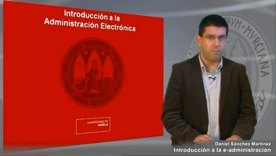 Curos de iniciación a la Administración Electrónica
