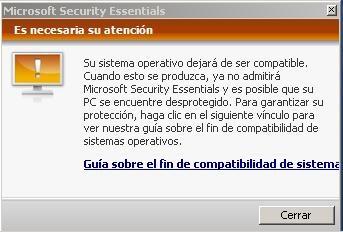 Aviso Microsoft