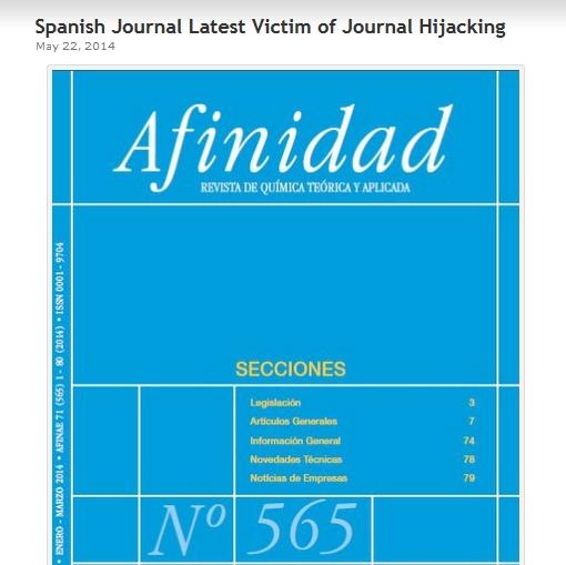 Journal Hijacking