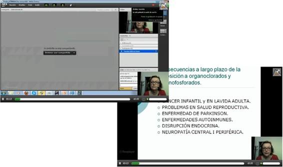 Ejemplo de videoconferencia