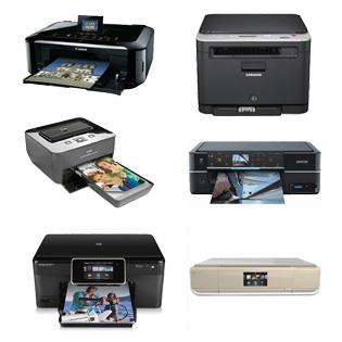 Distintos tipos de impresora