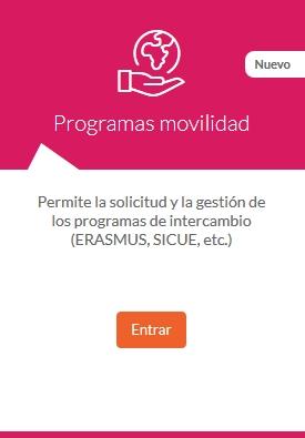 Programas de movilidad