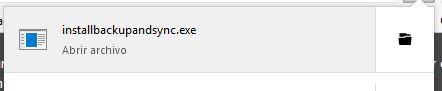 Descarga del fichero de instalación