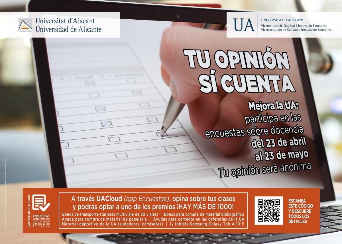 Encuestas docentes segundo cuatrimestre 2017-2018