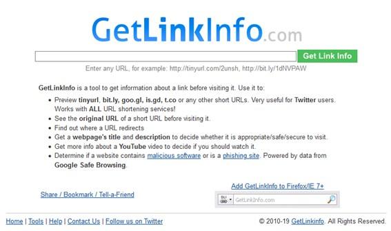 GetLinkInfo