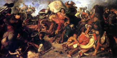La Batalla de Mohács, supuso la derrota del ejército húngaro, a las órdenes del joven rey Luis II de Hungría, a manos del ejército otomano, bajo el mando del sultán Solimán el Magnífico, y que tuvo lugar el 29 de agosto de 1526 a 170 km al sur de Budapest, Hungría, en Mohács.