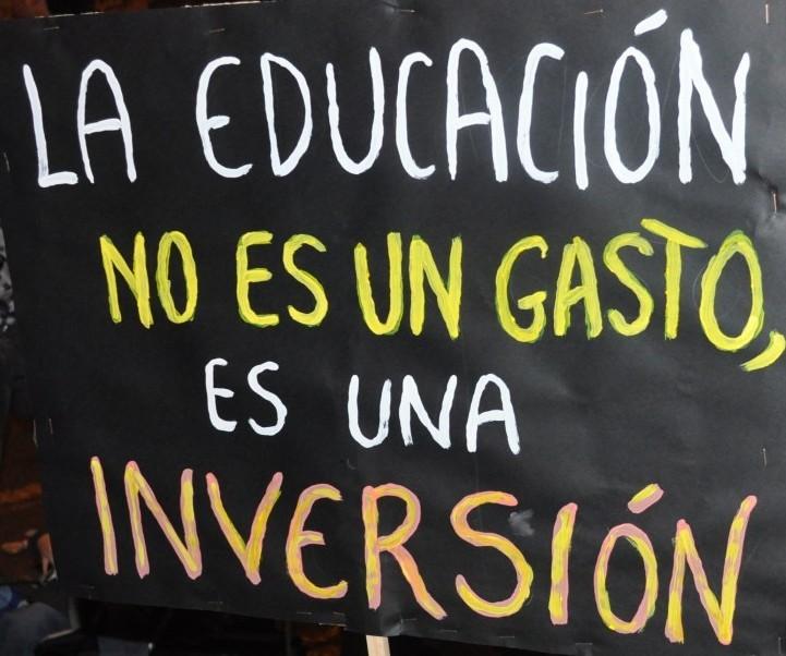 La educación no es un gasto