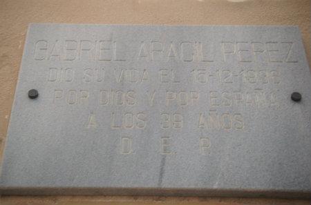 GABRIEL ARACIL PÉREZ