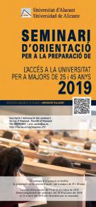 Seminario PAU Mayores 25