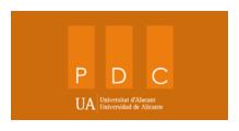 logotipo plan continuidad ua