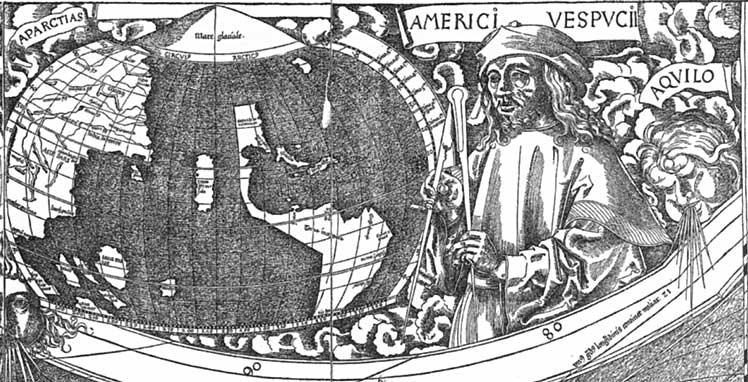 Américo Vespucio y América
