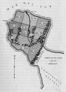Mapa de Sinapia