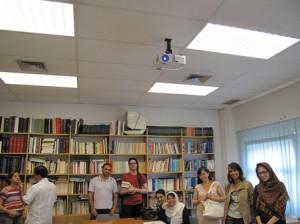 Asistentes al 2º Seminario de Iranología